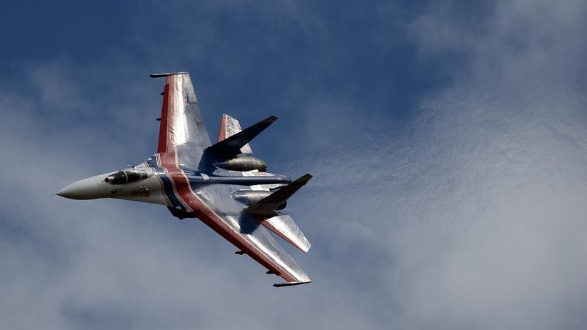 Katastrofa myśliwca Su-27