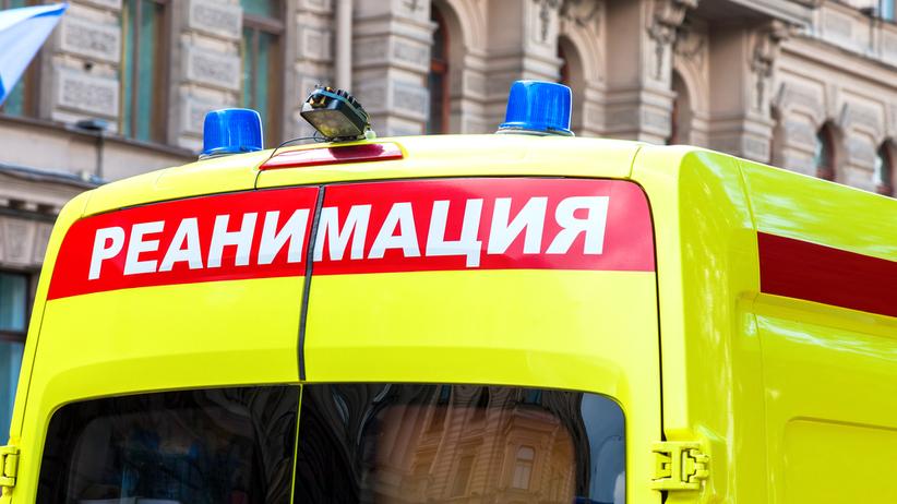 Autobus wjechał w przystanek w Rosji