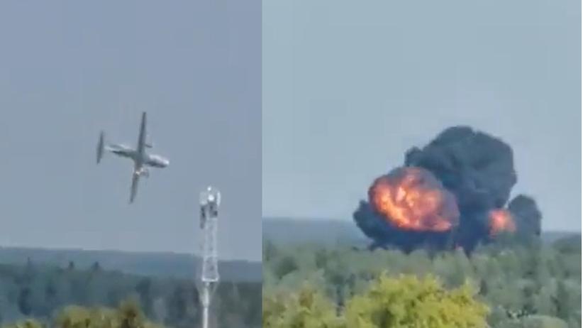 Iljuszyn Ił-112V rozbił się pod Moskwą
