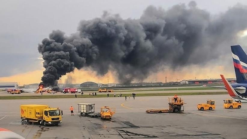 41 osób zginęło w pożarze rosyjskiego samolotu