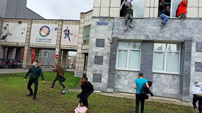 strzelanina na uniwersytecie w rosji