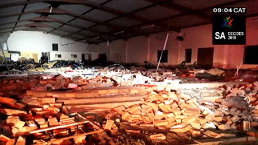 Zawalił się dach kościoła w RPA. Zginęło 13 osób