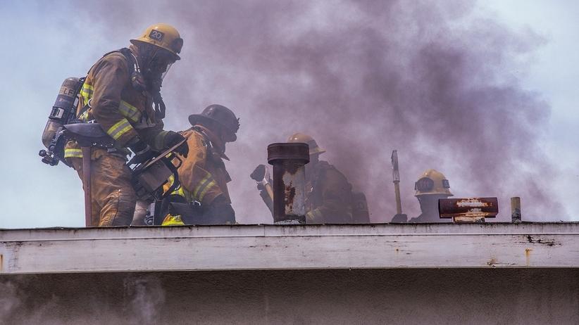 Rumunia pożar