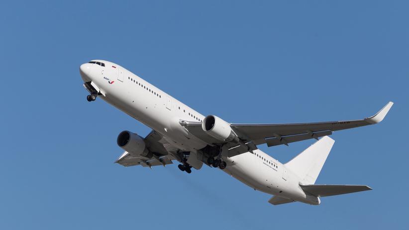 samolot awaryjnie lądował na Syberii