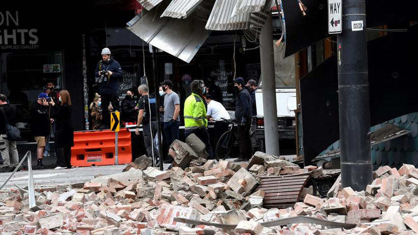 Trzęsienie ziemi u wschodnich wybrzeży Australii