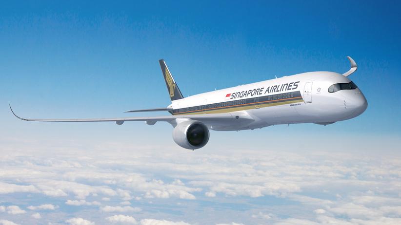 Samolot Singapore Airlines
