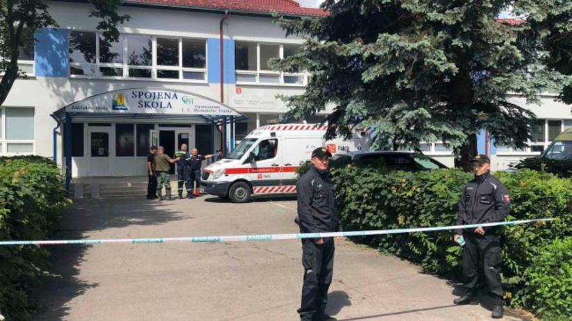 Słowacja. Atak nożownika w szkole. Nie żyje członek dyrekcji, ranne dzieci i nauczyciele