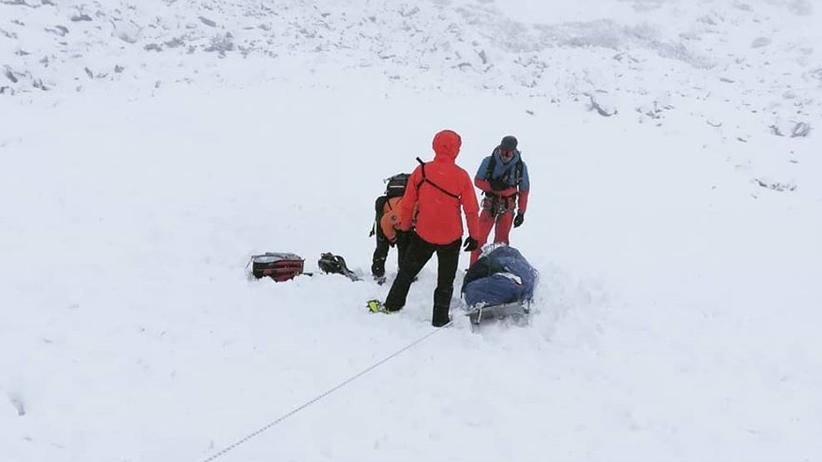 Pierwsza tragedia w sezonie narciarskim w Tatrach. Nie żyje 23-latek
