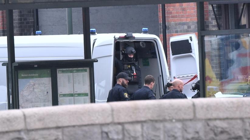 Strzelanina na dworcu w Malmoe. Mężczyzna groził, że ma bombę