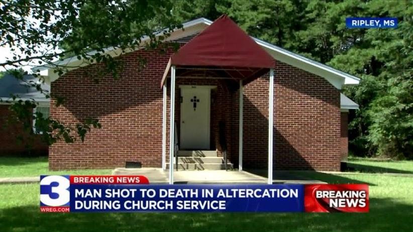 Strzelanina w kościele w Ripley