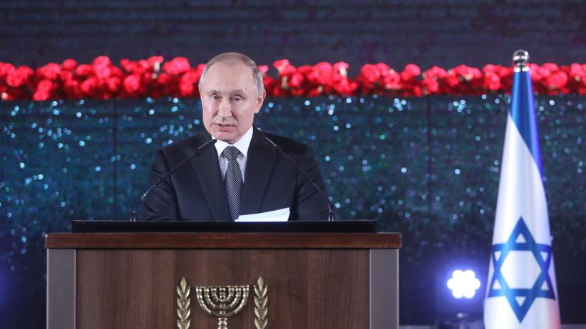 Światowe Forum Holocaustu w Jerozolimie. Putin mówił o Polakach