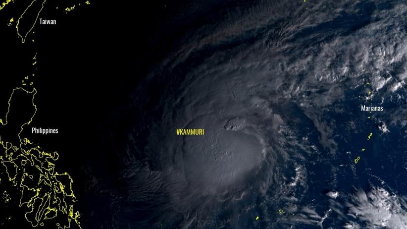 Nadciąga tajfun Kammuri. Trwa ewakuacja dziesiątek tysięcy osób