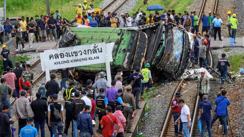 Tajlandia, wypadek autokaru