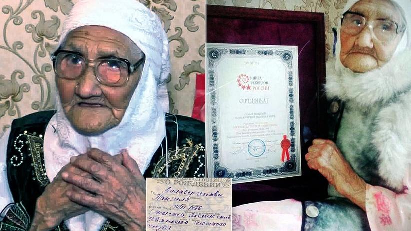 Nie żyje najstarsza osoba na świecie. Tanzilia Bisembejewa miała 123 lata