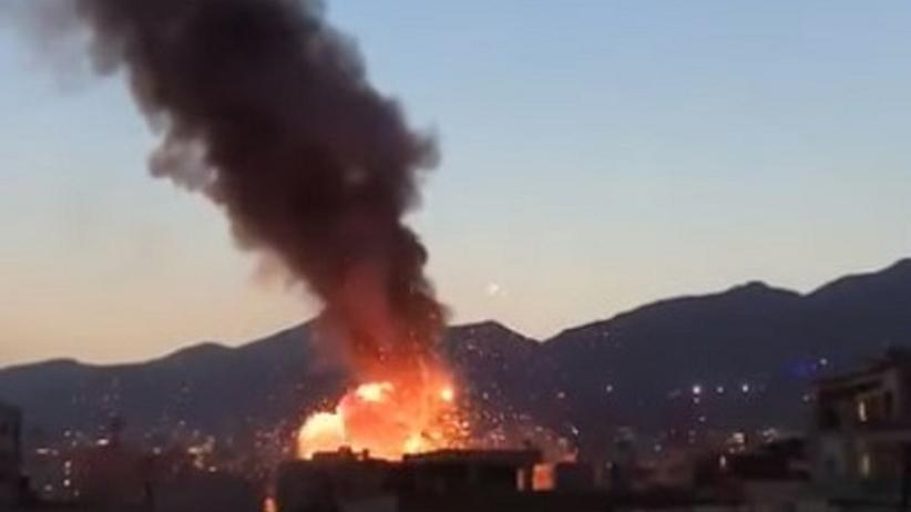 Wybuch w klinice w Teheranie
