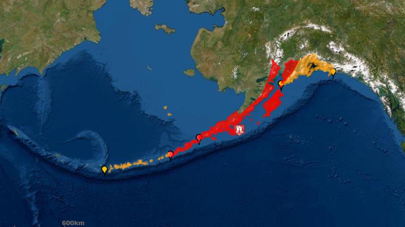 trzęsienie ziemi w USA