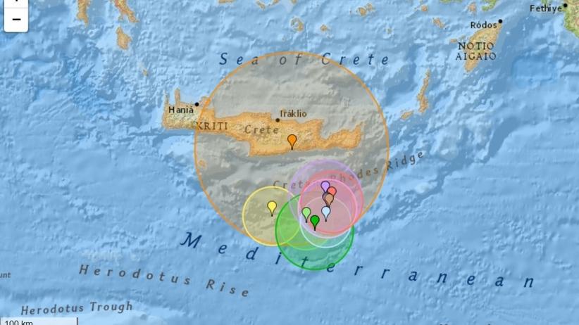 Trzęsienie ziemi w Grecji