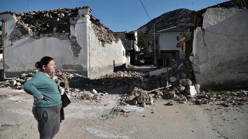 Kolejne trzęsienie ziemi w Grecji. Mieszkańcy opuścili domy [GALERIA]