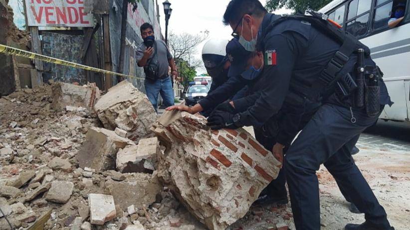 Meksyk - trzęsienie ziemi