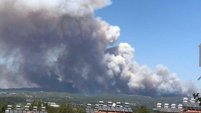Ogromny pożar w Turcji