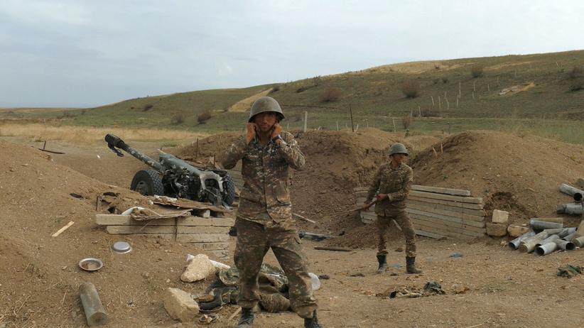 Żołnierze Armii Obrony Karabachu