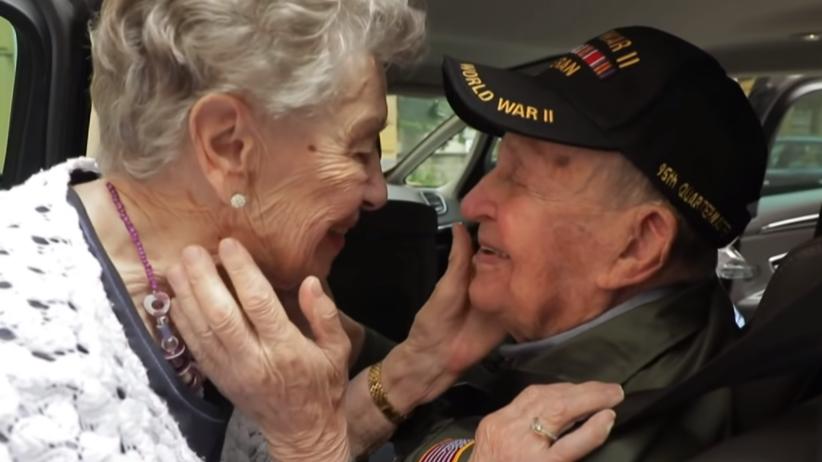 USA, Francja. Weteran wojenny odnalazł swoją miłość po 75 latach
