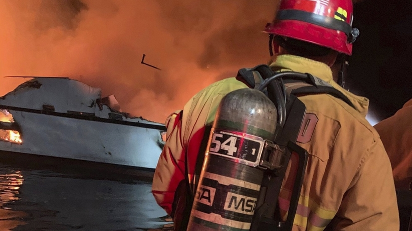 Pożar łodzi u wybrzeży USA. Nie żyje wiele osób