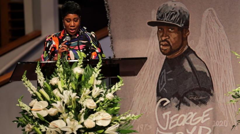 pogrzeb Georgea Floyda