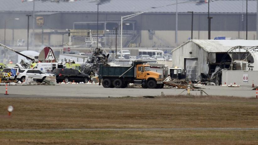 Katastrofa samolotu w Bradley, USA