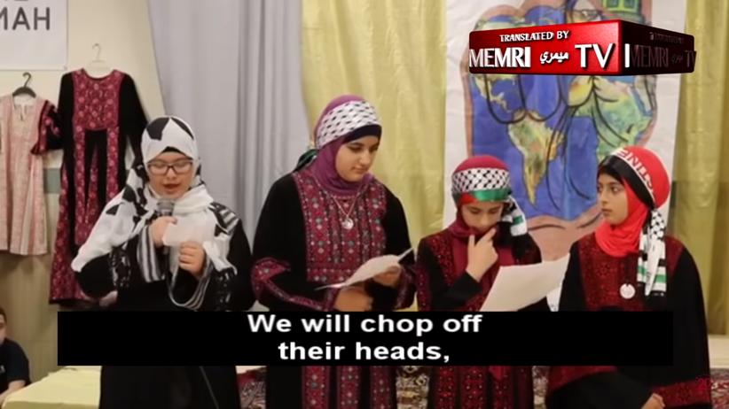 """USA. Muzułmańskie dzieci o """"odcinaniu głów"""" i """"krwi męczenników"""" [WIDEO]"""