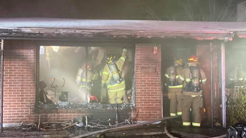 40-latek z Teksasu podpalił dom z bratem i matką w środku