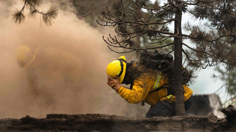Pożar w Oregonie, 25 lipca 2021