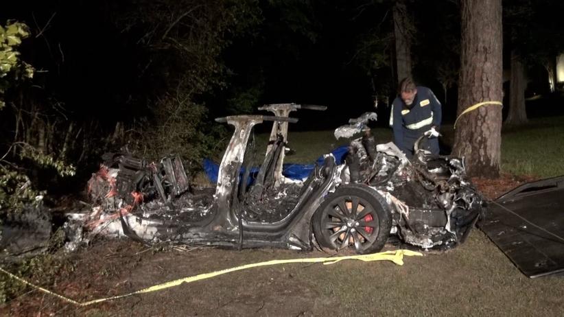 Tesla, śmiertelny wypadek w Teksasie