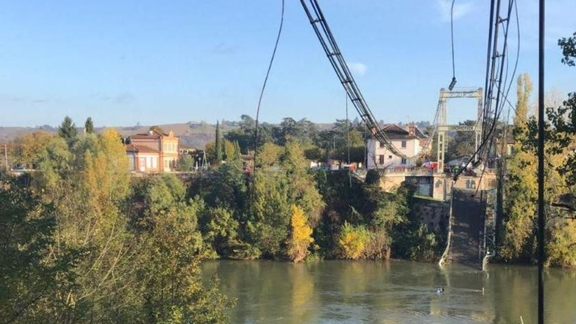We Francji zawalil się most