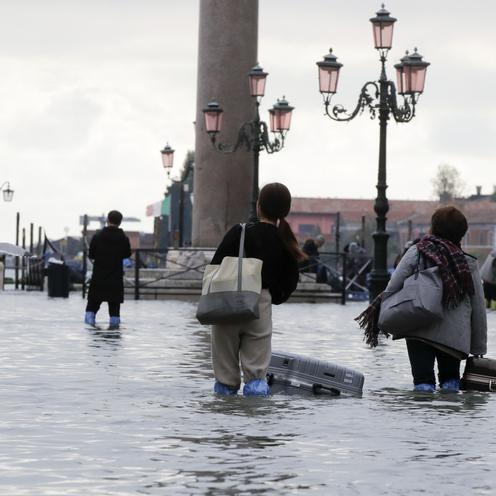 Wenecja pod wodą