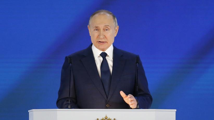 Władimir Putin orędzie