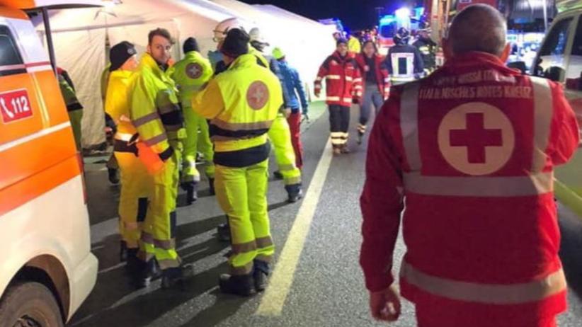 Wypadek we Włoszech