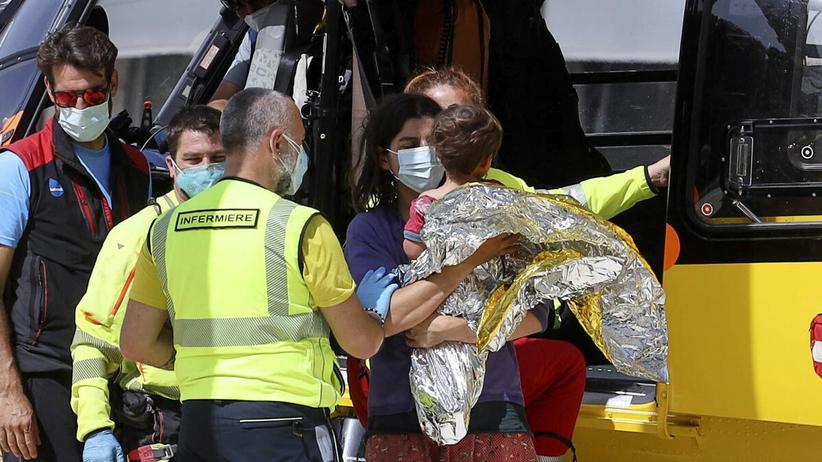 reporter RAI odnalazł zaginionego chłopca