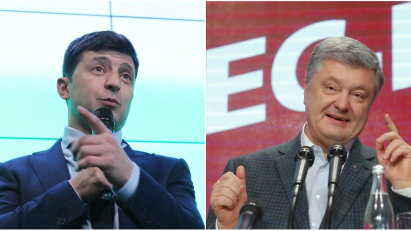 Wybory na Ukrainie 2019. W pierwszej turze wygrywa aktor Wołodymyr Zełenski