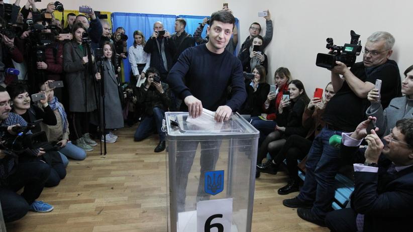 Wybory na Ukrainie 2019. Zełenski, Tymoszenko i Poroszenko oddali swój głos