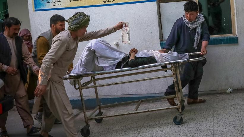 wybuch bomby w pobliżu szkoły w Kabulu