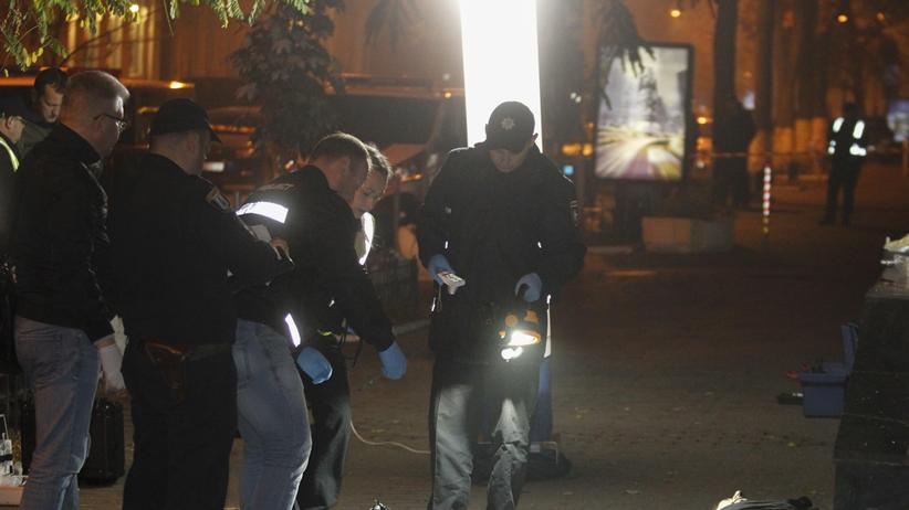 Wybuch granatu w centrum miasta. Nie żyją dwie osoby