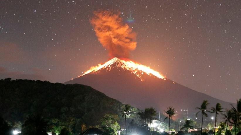 Bali wulkan Agung