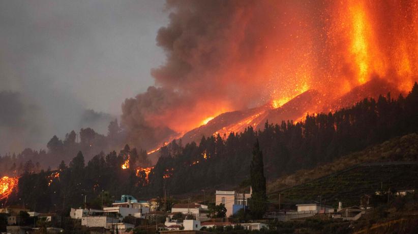 Wybuch wulkanu Cumbre Vieja