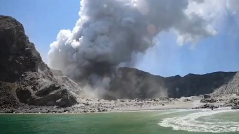 Wybuch wulkanu w Nowej Zelandii. Nie żyje prawie 20 turystów