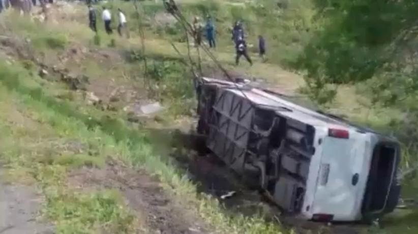 Wypadek autokaru w Rosji. Zginęli chińscy turyści