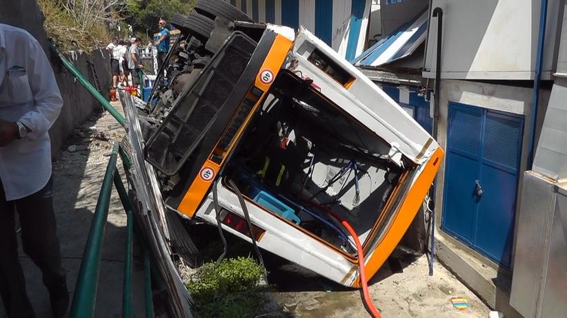 wypadek na Capri
