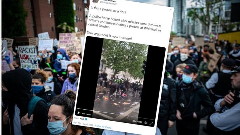 Zamieszki w Londynie