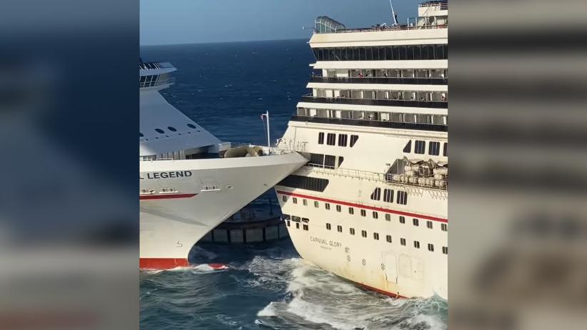 zderzenie statków
