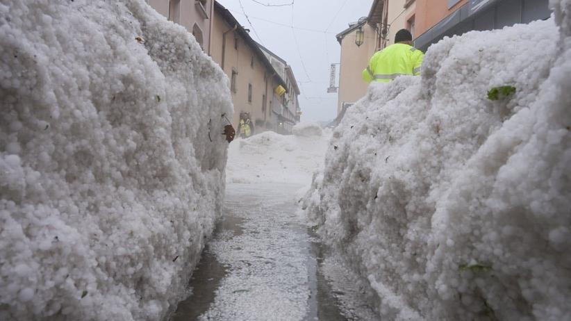 Zima zaatakowała we Francji